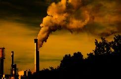Calentamiento del planeta Fotos de archivo