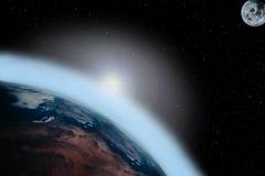 Calentamiento del planeta 3 Imagenes de archivo
