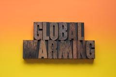 Calentamiento del planeta Fotos de archivo libres de regalías