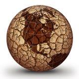 Calentamiento del planeta Imagen de archivo