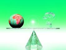 Calentamiento del planeta Imagenes de archivo