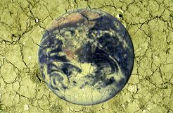 Calentamiento del planeta - cambio de clima Fotografía de archivo