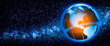 Calentamiento del planeta stock de ilustración