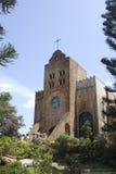 Caleruega kerk Royalty-vrije Stock Foto