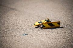 Cales d'avions sur le terrain d'atterrissage Photographie stock libre de droits