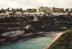 Cales de Mallorca. Resort area in Cales de Mallorca, Majorca, Spain Royalty Free Stock Photos