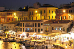 Cales Fonts  Es Castell, Minorca, Balearic islands, Spain Royalty Free Stock Photos