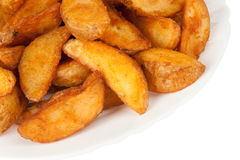 Cales frites de pomme de terre Photo stock