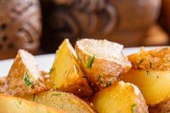 Cales frites de pomme de terre Photographie stock libre de droits