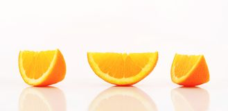 Cales oranges Photos stock