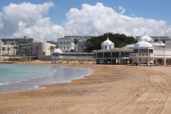 Caleta Beach in Cadiz, Andalusia, Spain Royalty Free Stock Photography