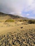 Caleta de Famara, Lanzarote Photographie stock