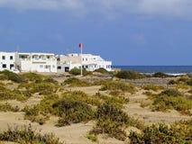 Caleta de Famara, Lanzarote Stockbilder