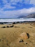 Caleta de Famara, Lanzarote Lizenzfreies Stockfoto
