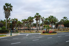 Caleta DE Fuste, Fuerteventura, Canarische Eilanden, Spanje Stock Foto's
