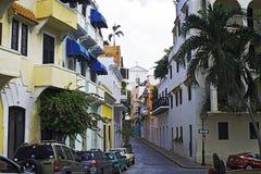 Caleta de las monjas, το παλαιό San Juan, Πουέρτο Ρίκο Στοκ Φωτογραφία