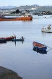 Caleta de Puerto Montt Angelmo, Чили стоковое изображение rf