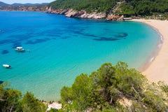 Caleta de Sant Vicent cala San Vicente San Juan de Ibiza fotos de stock