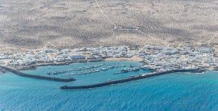 Caleta de Sebo, Graciosa Island, Lanzarote Royalty Free Stock Photo