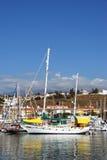 Caleta de Velez harbour. Royalty Free Stock Image