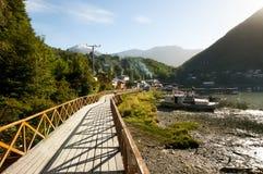 Caleta Tortel - Chile Royalty Free Stock Image