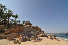 Caletta Beach Los cabos Mexico 2. Rock point in Los cabos Mexico Baja California Sur royalty free stock images
