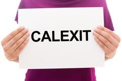 CALEXIT стоковое изображение