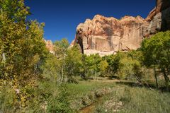 Calf Creek Canyon Royalty Free Stock Photography