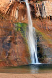 Calf Creek Falls. Royalty Free Stock Photo