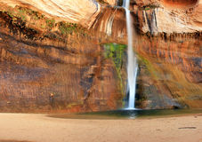 Calf Creek Falls. Lower Calf Creek Falls near Escalante, Utah, USA Stock Photo