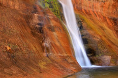 Calf Creek Falls. Royalty Free Stock Photos