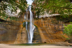 Calf Creek Falls. Recreation Area in Utah Royalty Free Stock Photo