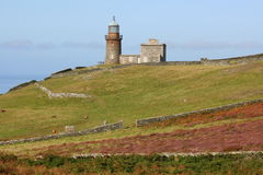 Calf of Man Lighthouse Royalty Free Stock Images