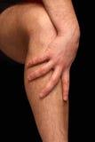 Calf pain stock photos
