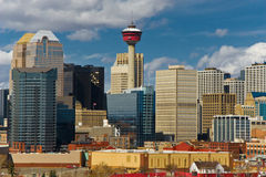 Calgary Foto de Stock Royalty Free