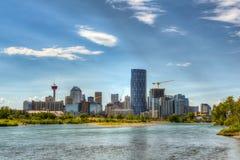 Calgary Alberta Royalty-vrije Stock Afbeeldingen