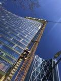 Calgary, Alberta, Canadá, Calgary, Alberta, Canadá Edificio de la torre del cielo y del arco de TELUS fotos de archivo