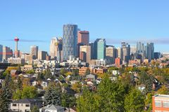 CALGARY, ALBERTA, CANADA Stock Photos