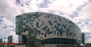 Calgary, Alberta, Canada Nieuwe Centrale Bibliotheek royalty-vrije stock foto
