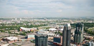 Calgary-Ansturm-Boden Lizenzfreie Stockfotografie