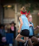 Calgary-Ansturm-Parade 2018 lizenzfreie stockfotografie
