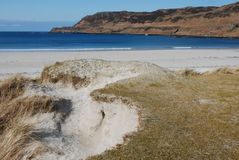 Calgary beach,. Beautiful Calgary beach, Isle of Mull, Scotland Royalty Free Stock Photography