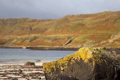 Calgary Beach Mull Stock Images