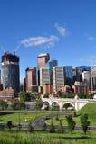 Calgary, Bow River Stock Image