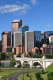 Calgary, Bow River Royalty Free Stock Photos