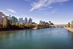 Calgary bridge Royalty Free Stock Images