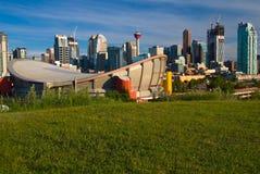 Calgary céntrica Fotografía de archivo libre de regalías