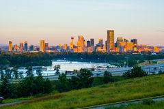 Calgary Canada fotografia stock