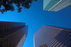 Calgary, Canada Skyscrapers. Office towers in Calgary Alberta, Canada Stock Image