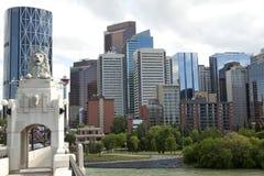 Calgary City, Canada Royalty Free Stock Photography